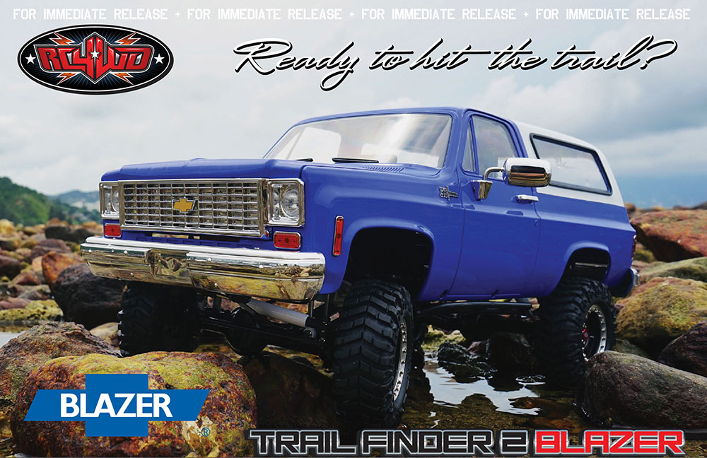 Trail Finder 2 Chevrolet Blazer RTR
