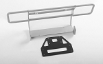Ranch Front Bumper for Capo Racing Samurai 1/6 RC Scale Crawler (Silver)