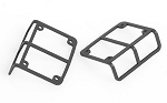 Metal Frame for CCHand Rear Tailight to fit Axial SCX10 Jeep Wrangler