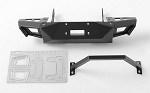 Metal Front Bumper for Axial SCX10 I & II (Black)
