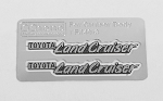 Side Metal Emblems for RC4WD Cruiser Body (Side A)