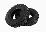 "King of the Road 1.7"" 1/14 Semi Truck Tires"