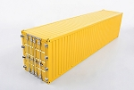 RC4WD 1/14 All Metal 40' Shipping Container (Yellow)